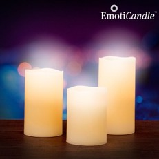 Velas LED Blow Sensor EmotiCandle (pack de 3)