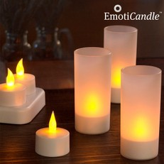 Velas LED Recargables EmotiCandle (pack de 6)